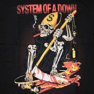 System Of A Down - Skate Skeleton