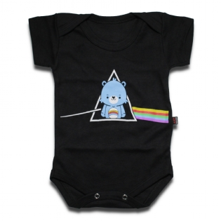 Body Bebê Bear Pink Floyd Dark Side