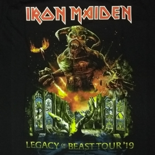 Iron Maiden - Legacy of the Beast World Tour